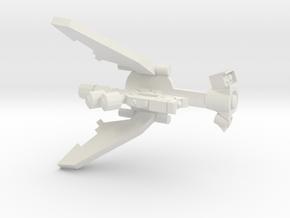 Laser Drone Conversion in White Natural Versatile Plastic