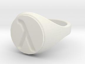 ring -- Sat, 23 Nov 2013 15:53:07 +0100 in White Natural Versatile Plastic