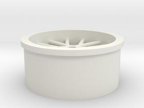wheel-m471 in White Natural Versatile Plastic