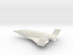NASC Gemini Solarwing in White Natural Versatile Plastic