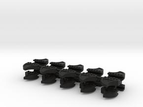 Wheel Stops HO 20 pack C83 in Black Strong & Flexible