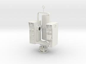 Geodimeter Model 6 EDM 1/6th scale in White Natural Versatile Plastic