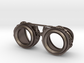 Steampunk Goggles in Stainless Steel