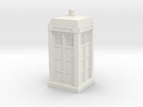 Metropolitan Police Box mk. 2 in White Natural Versatile Plastic