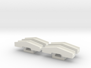Schneeschieber 1:220 tiefere Version in White Strong & Flexible