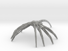Facehugger in Metallic Plastic