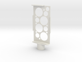 Iphone holder in White Natural Versatile Plastic