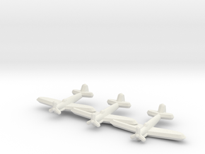 Fairey Firefly (Triplet) 1:900 in White Natural Versatile Plastic