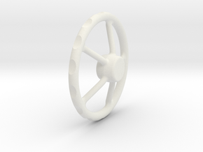 handwheel D20 T5 in White Natural Versatile Plastic