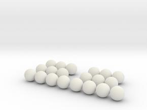 994k triangles in White Natural Versatile Plastic