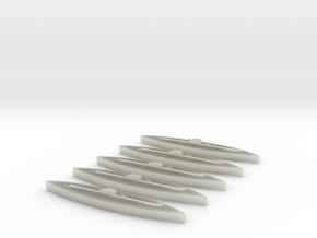 Rubis (Saphir class) 1:1800 x5 in Transparent Acrylic