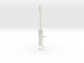 sniper in White Natural Versatile Plastic