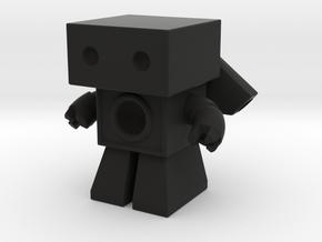 Robot 0025 Jet Bot Sonic Boom Bot in Black Strong & Flexible
