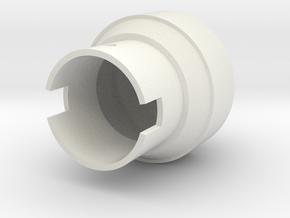 Saber-RK1 Pommel in White Natural Versatile Plastic