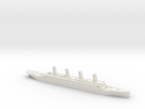 Titanic 1:3000 in White Natural Versatile Plastic