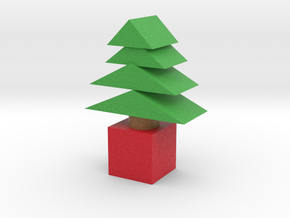 Xmas Tree in Full Color Sandstone