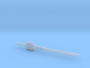 Drift Sword in Smooth Fine Detail Plastic