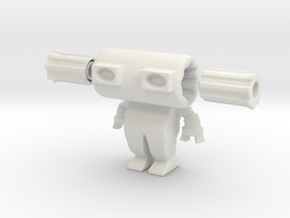 Robot 0029 Diesel Bot v2 in White Strong & Flexible