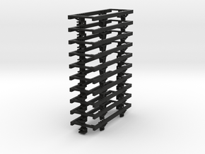 OO9 underframe (long) 10 pack in Black Strong & Flexible