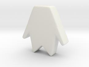 Fantasmico 1 in White Natural Versatile Plastic