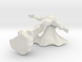 Cape man beefed up in White Natural Versatile Plastic