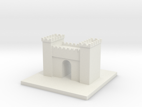 Cool Arch in White Natural Versatile Plastic
