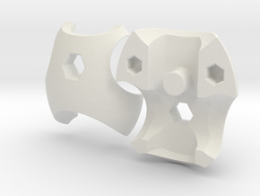 Neo Chestplate for ModiBot in White Natural Versatile Plastic