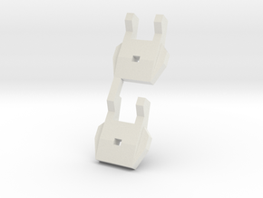 Iron Guy Shoulder in White Natural Versatile Plastic