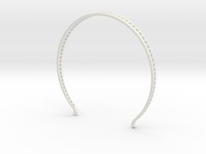 Head arc 2 in White Natural Versatile Plastic
