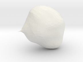 VOTE FOR POTATOE in White Natural Versatile Plastic