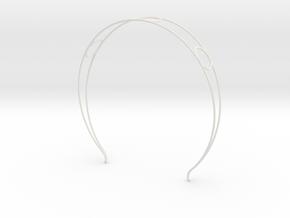 Head arc 6 in White Natural Versatile Plastic