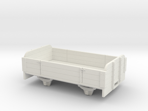 O9/On18 3 plank long  (kadee) in White Natural Versatile Plastic