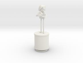 Xmas13 NicoleAdams Print V01 in White Strong & Flexible