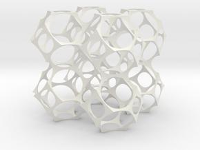 Foam skeleton in White Natural Versatile Plastic