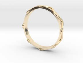 Waves Ring - Sz.9 in 14K Yellow Gold