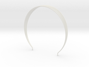 Head arc 8 in White Natural Versatile Plastic