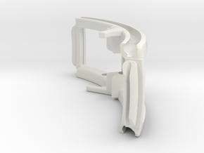 Mechanical part in White Natural Versatile Plastic