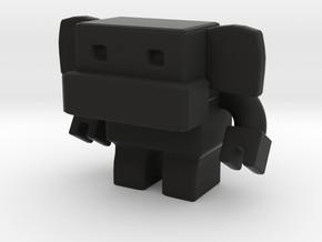 Robot 0037 Monkey Robot v1 in Black Strong & Flexible