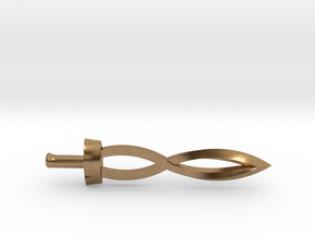 Deity Sword in Natural Brass
