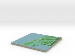 Terrafab generated model Mon Nov 18 2013 20:40:32  in Full Color Sandstone