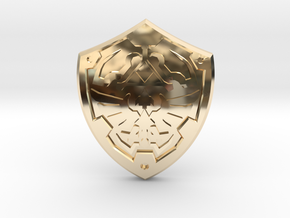 Royal Shield II in 14K Yellow Gold