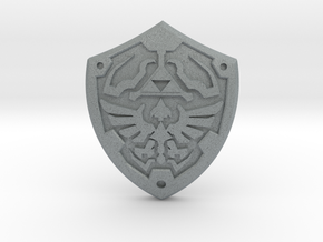 Royal Shield II in Polished Metallic Plastic