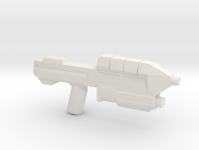 Space Assault Rifle 5C Variant in White Natural Versatile Plastic