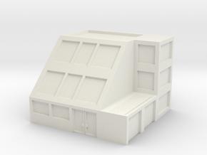 Apartment Building in White Natural Versatile Plastic