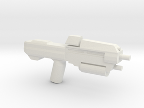 Space Assault Rifle 37 in White Strong & Flexible