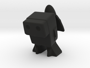 Robot 0048 Jet Pack Bot in Black Strong & Flexible