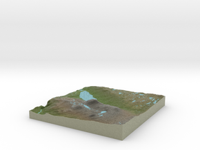 Terrafab generated model Tue Nov 19 2013 15:18:47  in Full Color Sandstone