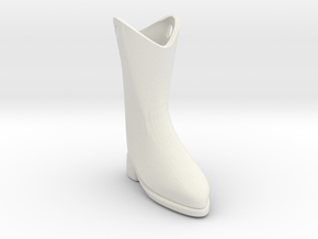 cowboy boot in White Strong & Flexible