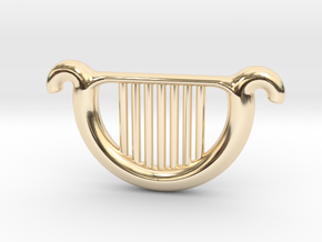 Goddess's Harp in 14K Yellow Gold
