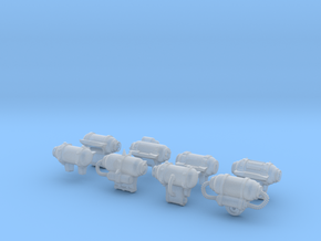 Backpacks 8 Different  in Smooth Fine Detail Plastic